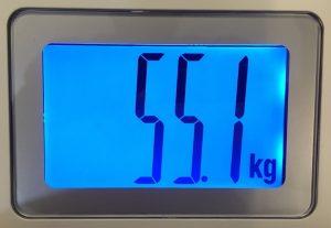始めの体重