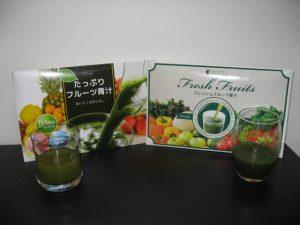 めっちゃたっぷりフルーツ青汁VSフレッシュフルーツ青汁